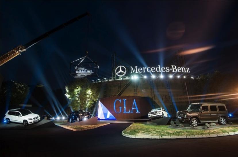 Mercedes-Benz GLA Launch Event 2014